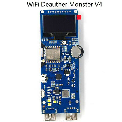 DSTIKE WiFi Deauther Monster V4 Board Development 18650 GPIOs Reverse Protection