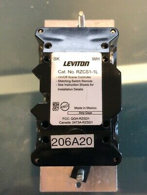 Leviton RZCS1 Scene Controller Z-Wave compatible w/ Wink, Smarthings, and more