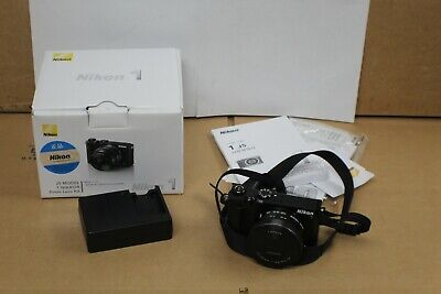 Nikon 1 J5 Model Black w/ Nikkor 10-30 mm Lens Mirrorless Digital Camera Kit