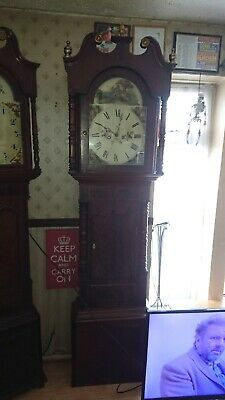 grandfather clock Westminster chime full working order