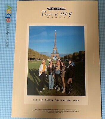 Paris et ITZY Photobook IT'z ME Preorder Benefit Unsealed No Postcards
