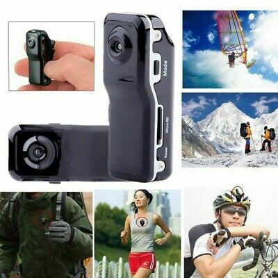 Mini DV Videocamera DVR Supporto per Webcam 16 GB HD per Cam Sport Casco Moto