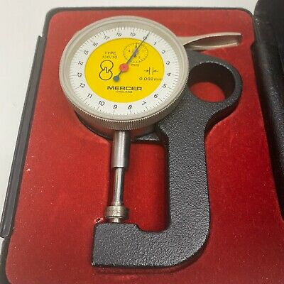 Mercer  Thickness Snap Gauge In Box (0.002mm) Type 130/10