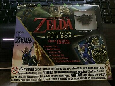 The Legend of Zelda Collector Fun Box with exclusive pin