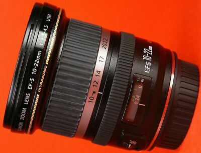 Canon EF-S 10-22mm f/3.5-4.5 USM [in excellent condition]