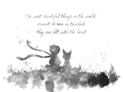 The Little Prince Canvas Wall Art Picture Print 50x76cm