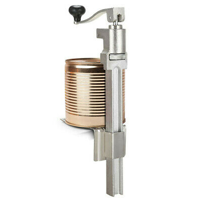 Heavy Duty Commercial CAN OPENER For Up To 34cm, Plated Steel base