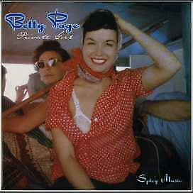 Various - Betty Page: Private Girl - Spicy Music (Vinyl)