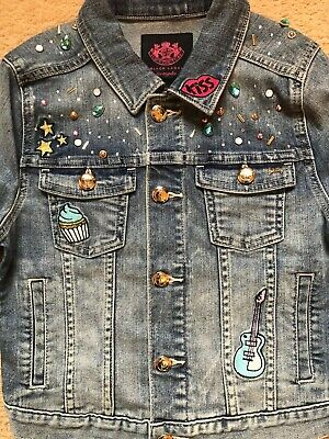 juicy couture girls denim jacket age 10