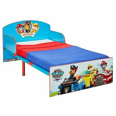 Paw Patrol Toddler Bed Children 2 Protective Side Panels Chase Marshall Rubble