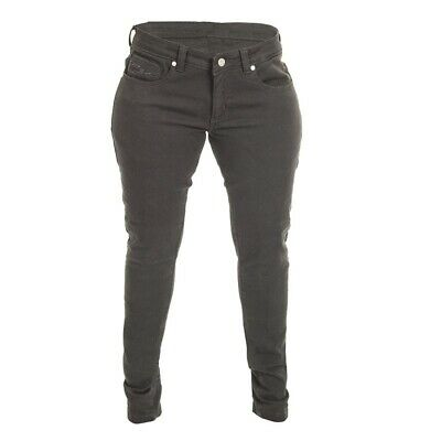 RST Aramid Skinny Fit Ladies Motorbike Riding Jeans Black Size 12