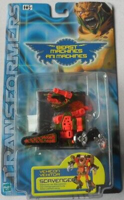 Transformers Deluxe Beast Machines - Vehicon Scavenger By Hasbro in 2000