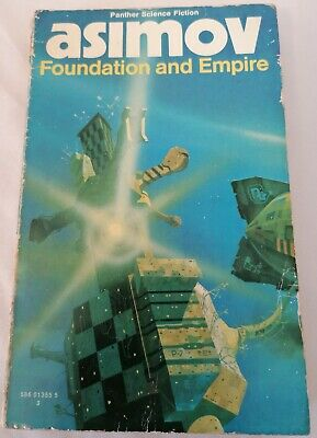 BOOK - Vintage Isaac Asimov SF Paperback Foundation And Empire Panther 1974