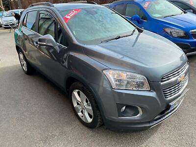 Chevrolet Trax 1.7VCDi ( 130ps s/s ) 2014MY LT GREY,ALLOYS,H/LTHR,PRIVACY GLASS