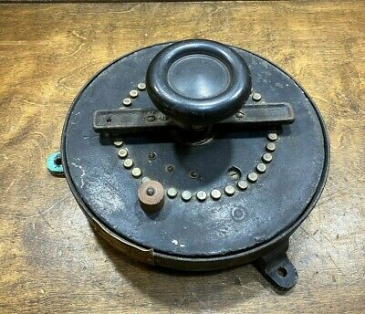 Antique General Electric Industrial Rheostat Vintage Speed Control Steampunk