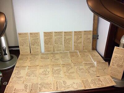 Vtg 1920s Lot 27PC Shredded Wheat Coloring Painting Contest 20 $700 7 $250 Cards
