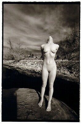 """Fine Art Nude Darkroom Print from """"Gordy and the Pussycats"""""""