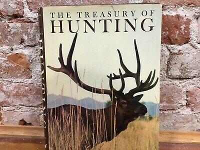 THE TREASURY OF HUNTING by LARRY KOLLER - Big Game Hunting - Small Game Hunting