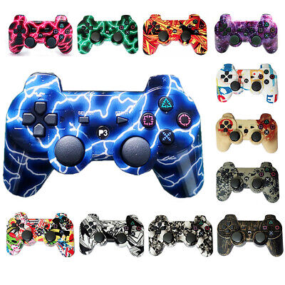 PS3 Wireless Controller Double Shock Gamepad with Charging Cable for sony PS3
