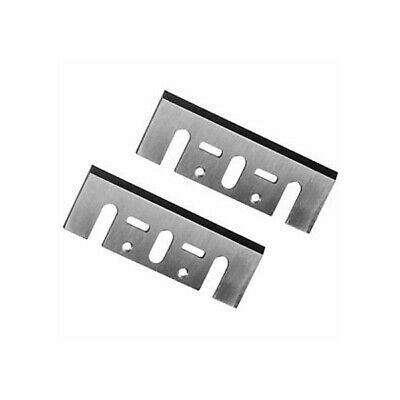 """2PC Electric HSS Planer Spare Blades 82mm 3.2"""" High Speed Parts For Makita 1900B"""