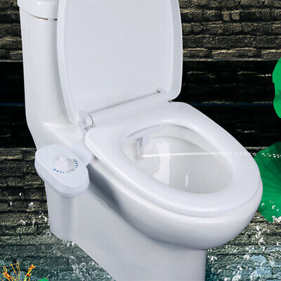 Toilet Seat Bidet Attachment Hot Cold Fresh Water Spray Non Electric Mechanical 60 19 Picclick Uk