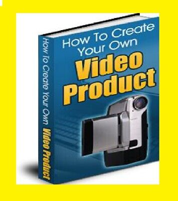 How to Create Your Own Video Product New PDF ebook Free shipping with MRR