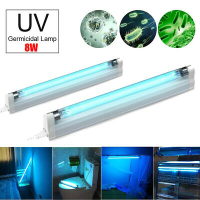 Ultraviolet Germicidal Tube Lights UV T5 Ozone Disinfection Lamp UVC Sterilizer