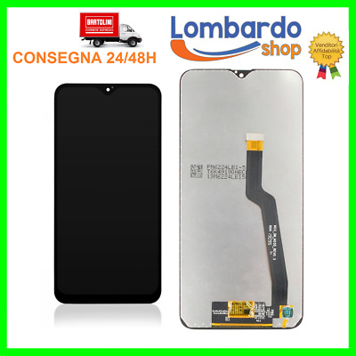 Touch Screen Lcd Display Per Samsung Galaxy A10 2018 Sm-A105Fn A105Ds Nero