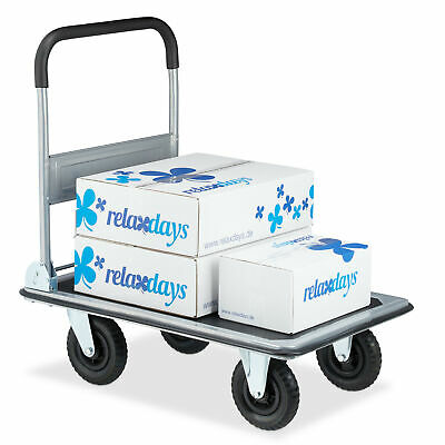 Platform Truck Transport Trolley Dolly Cart Hand-truck 350 kg Foldable Wheels