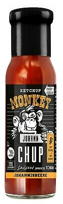 (100ml €1,66) Ketchup Monkey JOHANN CHUP Johannisbeere 240ml