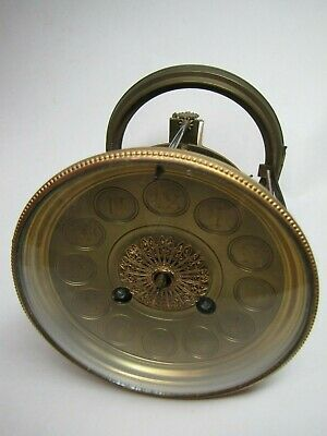 A French Striking Clock Movement and Back