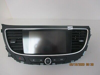 2017 Buick Lacrosse Touchscreen Radio Info Panel 84211905