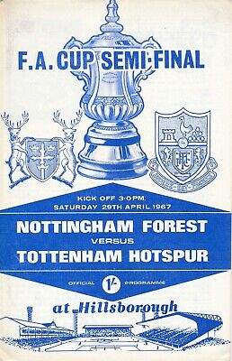FA CUP SEMI FINAL 1967 Nottingham Forest v Tottenham