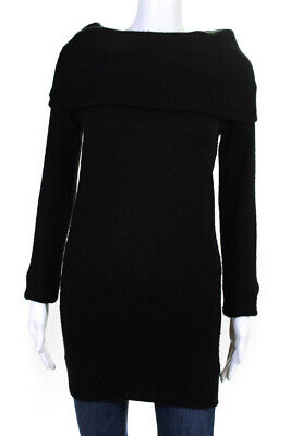 Ingrid and Isabel Womens Cowl Maternity Sweater Black Size Extra Small 10782880