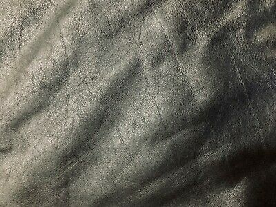 **CLEARANCE** BUNTINGFORD LEATHER - FULL HIDE - BLACK 1.2 - 1.4mm