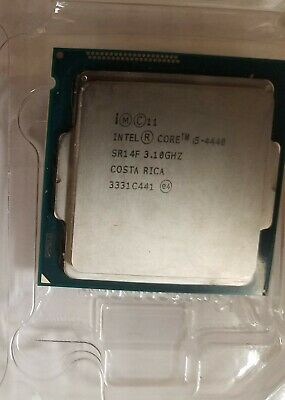 Intel i5-4440 3.1GHz 6MB 5GT//s SR14F LGA1150 CPU Processor Grade: B