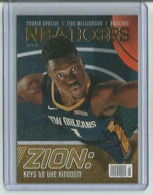 2019-20 Panini NBA Hoops Zion Williamson Rookie Special RC #SPEC1 Pelicans