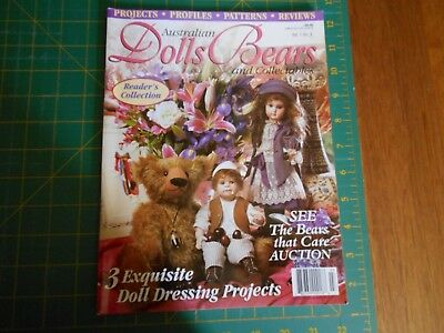 Australian Dolls Bears & Collectables Magazine - Vol 7 No 3 - Good Condition -