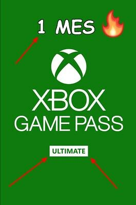 Xbox Game Pass Ultimate 1 mes (leer descripción) [PC/XBOX]