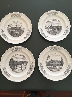 Wedgewood Historical Melbourne Collector Display Plates 1974
