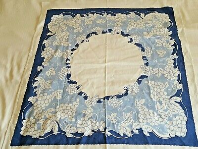 French linen metis print tablecloth