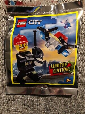 Lego City Fire Man And Drone