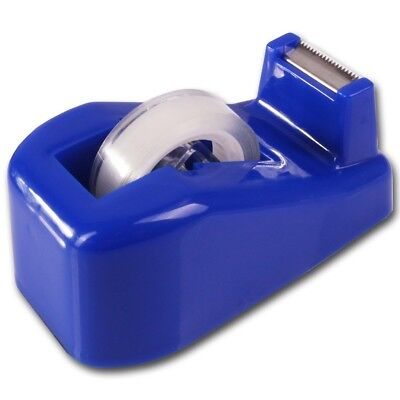 2Pc TAPE &DESK DISPENSER SET Office Desktop/Tabletop Weighted Sellotape Holder