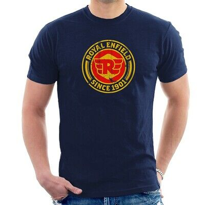 ROYAL ENFIELD T-SHIRT Distressed Vintage Classic ALL SIZES M58