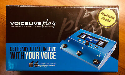 TC Helicon VoiceLive Play Vocal Effects Processor NIB !