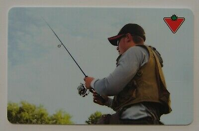 FISHING - Canadian Tire USED Gift Card - L770