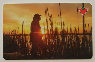 SUNSET - Canadian Tire USED Gift Card - L097