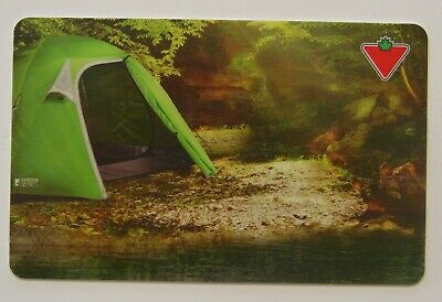 GREEN TENT - Canadian Tire USED Gift Card - L623