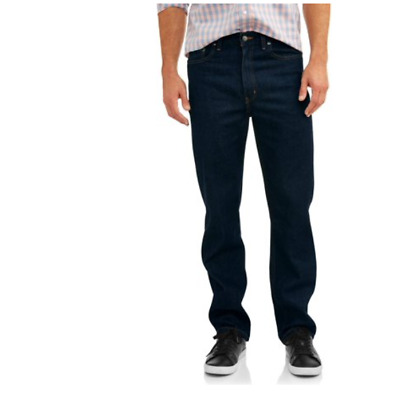 George Men's Relaxed Fit Jean Different Sizes