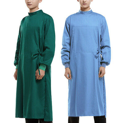 New Surgical Gown Isolation Gown Medical Dental Uniform Surgeon Costume Workwear